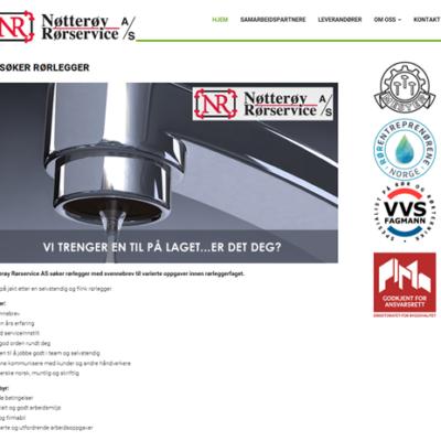 Nøtterøy Rørservice: desember 2016